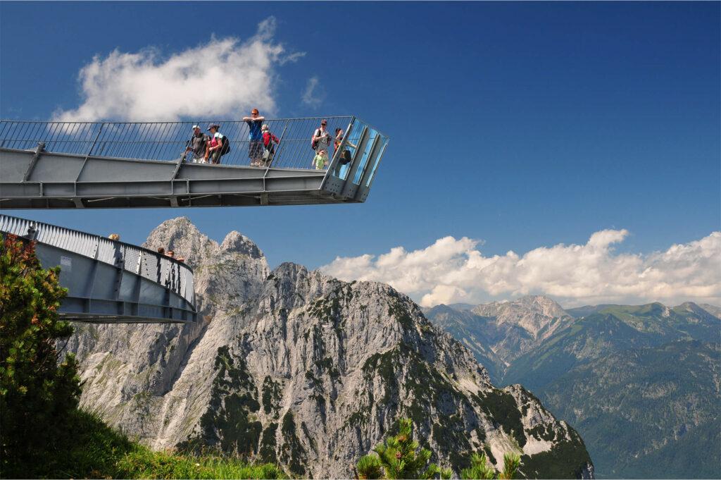 Alpspitze with Alpspix