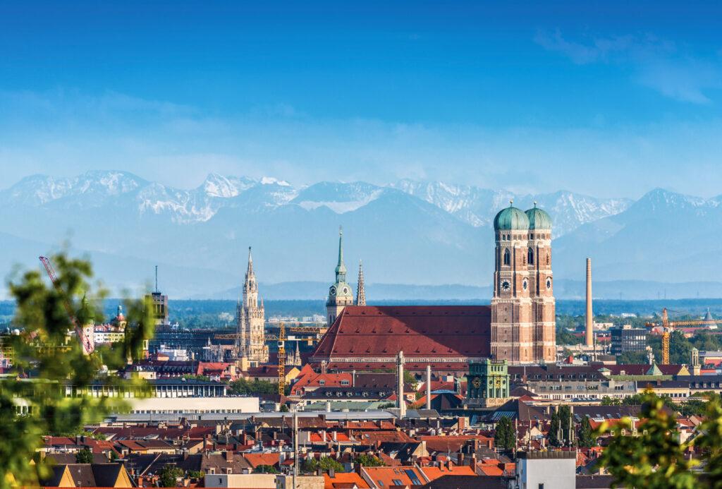 Munich, Frauenkirche Munich Stock Photo
